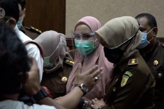 Pinangki keberatan atas dakwaan terima suap dari Djoko Tjandra