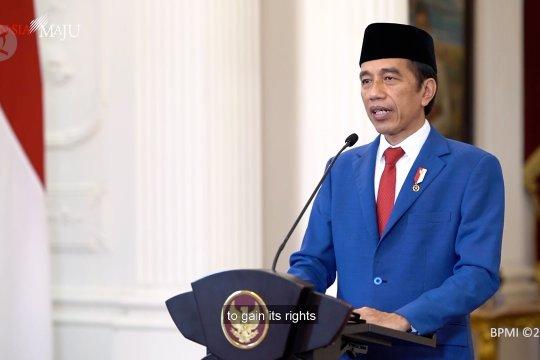 Presiden Jokowi tegaskan dukungan Indonesia untuk Palestina di Sidang Umum PBB