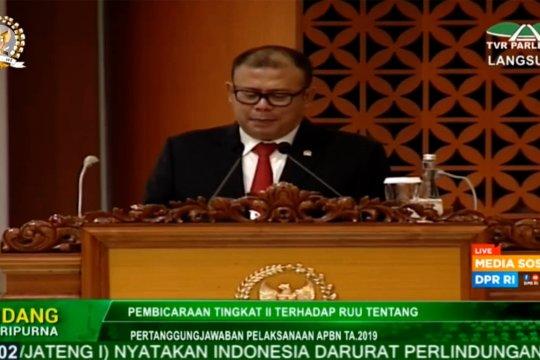 DPR setujui pertanggungjawaban APBN 2019