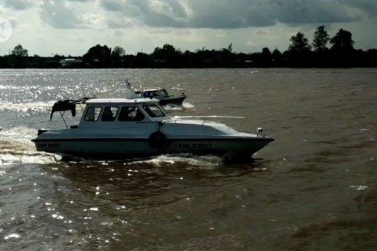 3 kapal tabrakan beruntun di Kalteng, nahkoda hilang tenggelam