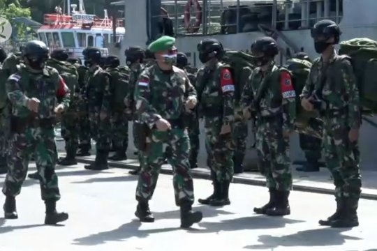 500 personel Satgas Pamrahwan antisipasi gangguan KKB