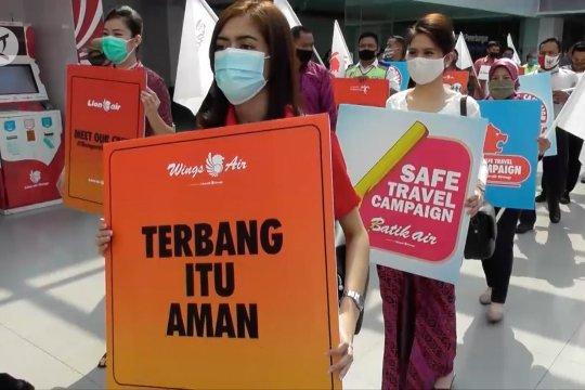 Bandara Ahmad Yani kampanyekan Terbang Itu Aman