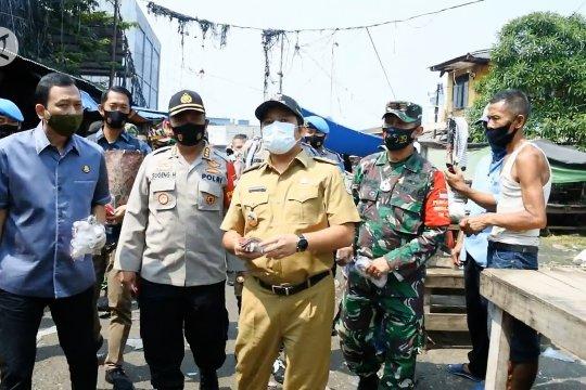 Forkopimda Kota Tangerang tingkatkan kedisiplinan kenakan masker