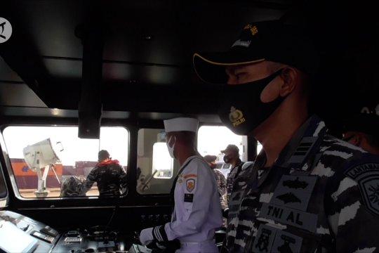 Guskamla jamin keamanan di perairan perbatasan