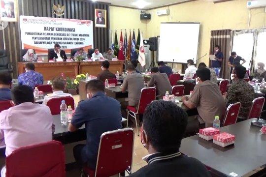 KPU Sultra minta paslon maksimalkan kampanye daring