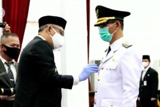 Gubernur Kalbar lantik Pjs Bupati Bengkayang
