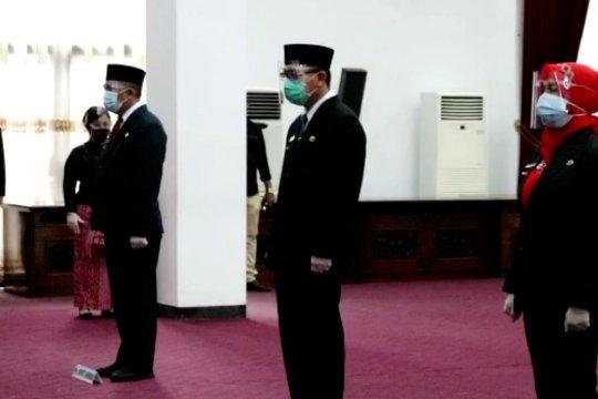 Gubernur Sutarmidji minta 4 Pjs Bupati di Kalbar jaga netralitas