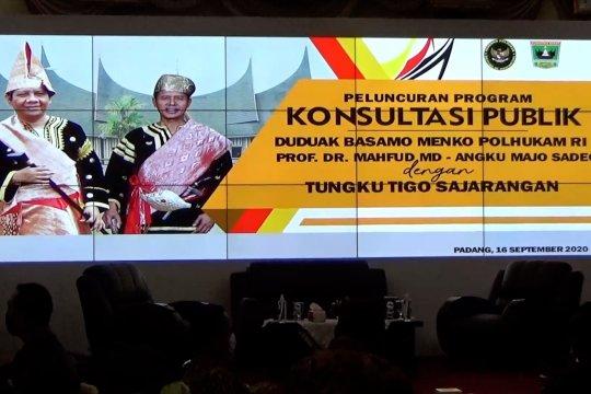 Menko Polhukam luncurkan program konsultasi publik di Padang