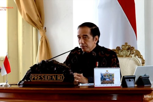 Hindari resesi, Presiden minta gubernur percepat belanja APBD