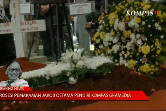 Pemakaman Jakob Oetama di TMP Kalibata