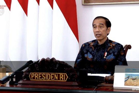 Pilkada tetap berjalan, Jokowi ingatkan semua pihak ikuti protokol kesehatan
