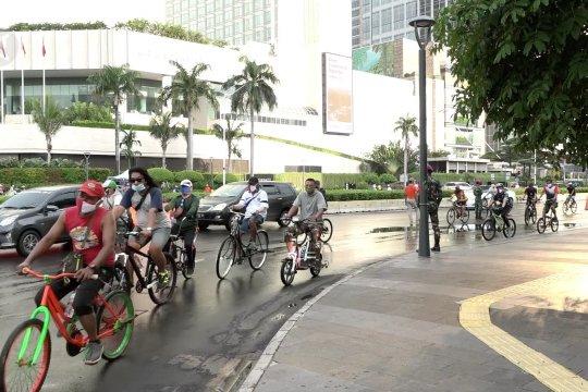 Pemerintah berkomitmen utamakan keselamatan pesepeda