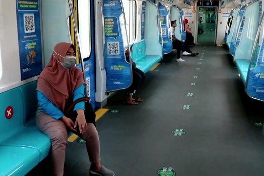 PSBB Jakarta, MRT Jakarta alami penurunan penumpang