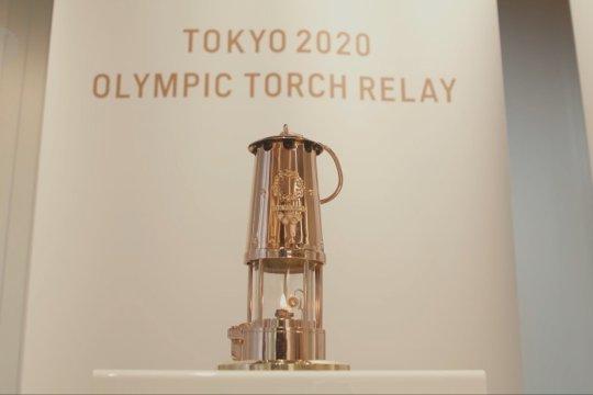 Api Olimpiade Tokyo dipamerkan di Museum Olimpiade Jepang