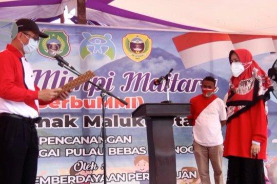 Kementerian PPPA tetapkan Pulau Maitara sebagai pulau bebas pornografi anak