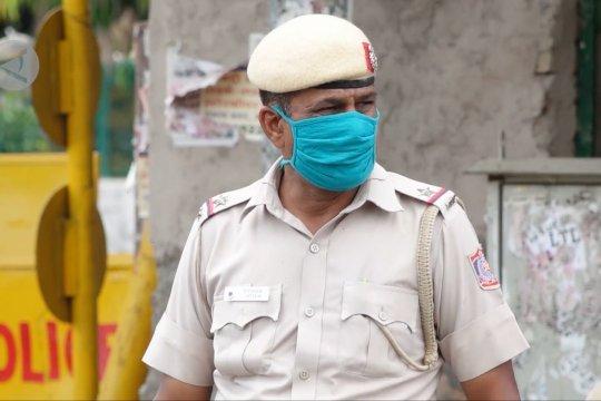 Lebih dari 76.000 personel kepolisian di India positif COVID-19