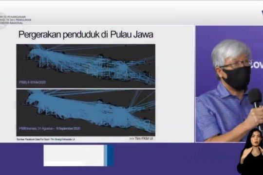Mobilitas penduduk saat PSBB Transisi Jakarta pengaruhi kasus COVID-19 di Pulau Jawa