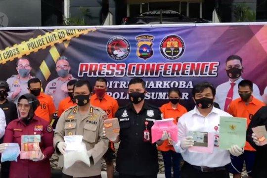 Polda Sumbar ungkap jaringan pengedar narkoba lintas provinsi