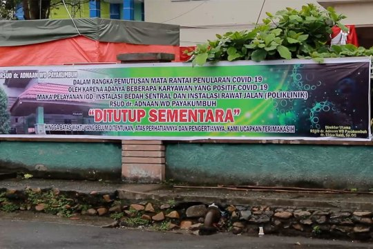 RSUD ditutup, Pemkot Payakumbuh optimalkan pelayanan puskesmas