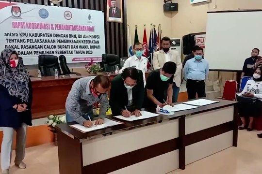 Tes kesehatan bakal calon di 7 daerah pilkada Sultra terpusat di Kendari