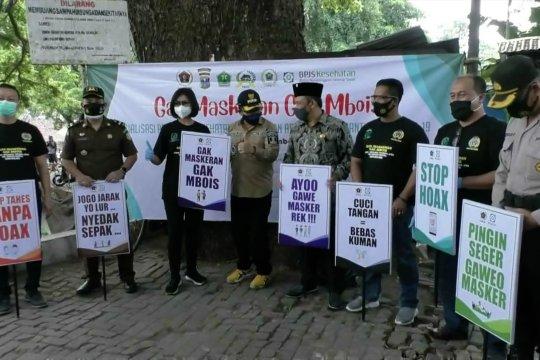 Gandeng PWI Malang Raya, BPJS Kesehatan ajak pedagang perangi COVID-19