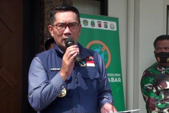 Gubernur Jabar: Kabupaten Bandung dominasi pelanggaran protokol kesehatan