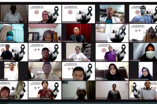 IDI gelar doa bersama atas gugurnya 100 dokter akibat COVID-19