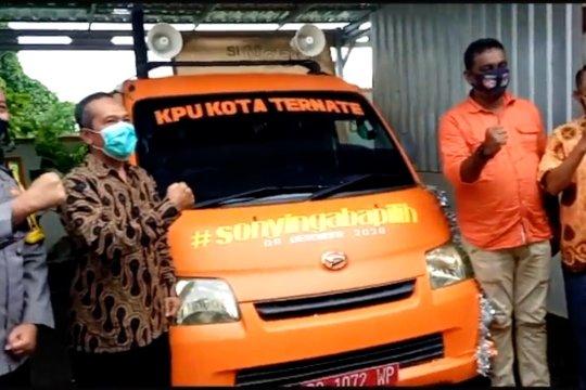KPU Ternate aktifkan mobil keliling layanan informasi Pilkada