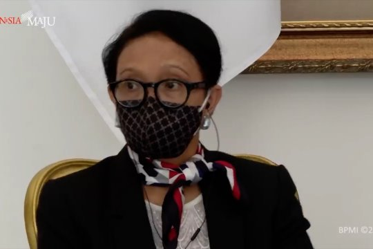 Menlu Retno minta AS bantu ASEAN tangani COVID-19
