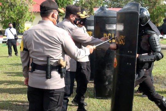 Polda Kalteng gelar Apel Operasi Mantap Praja Telabang 2020
