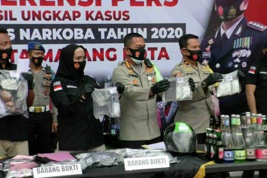 Polresta Malang Kota sita ribuan narkoba
