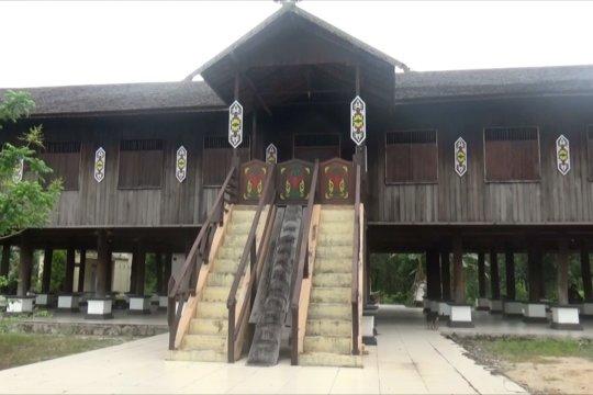 Rumah Betang di Sei Pasah, rumah adat yang butuh perhatian