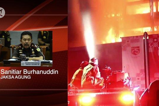 Kejagung  terima SPDP kasus kebakaran Gedung Kejagung dari Polri