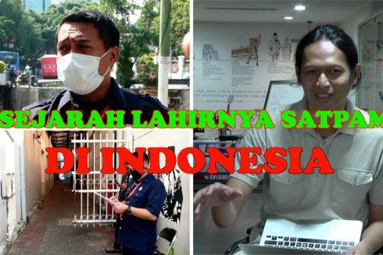 Satpam punya seragam baru, begini awal cerita ada satpam di Indonesia