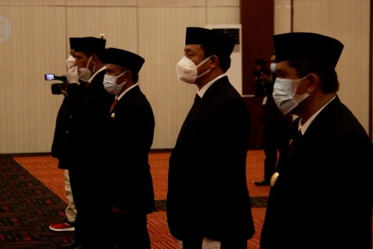 Gubernur kukuhkan lima Pjs Bupati dan Wali Kota di Malut