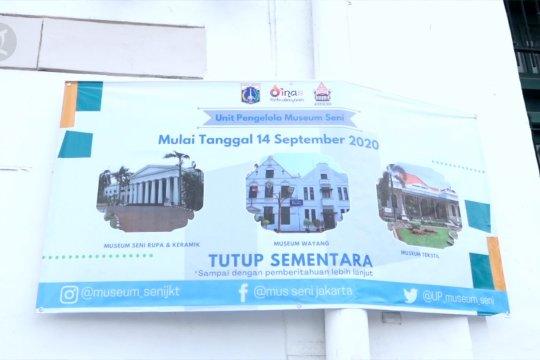 Suasana tempat wisata di Jakarta saat penerapan PSBB kembali