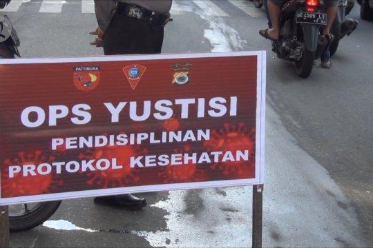Wali Kota Ambon: Tidak pakai masker dihukum lewat mekanisme pengadilan