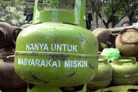 Polda Sultra amankan 350 tabung gas elpiji dijual ilegal