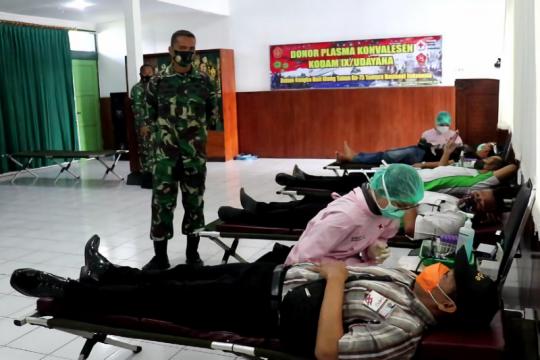 Danrem harap terapi plasma konvalesen bisa tekan angka COVID di Bali