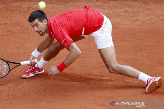 Djokovic catatkan kemenangan ke-70 di Roland Garros