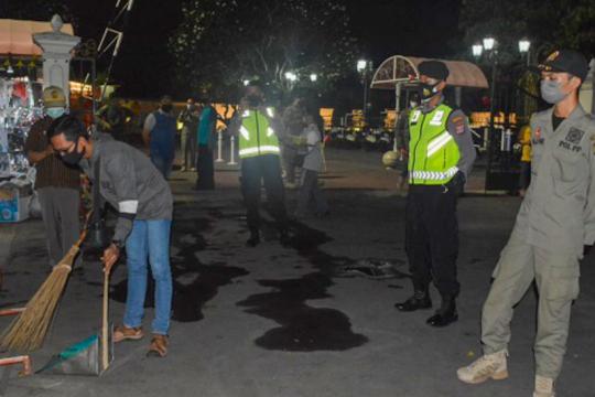 Yogyakarta gelar penegakan protokol kesehatan serentak di wilayah