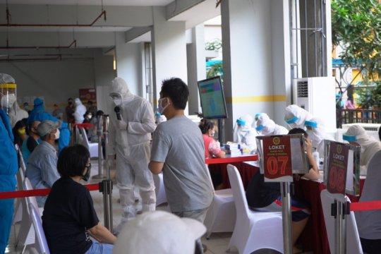 BIN gelar 22 kali tes COVID-19 massal di Surabaya