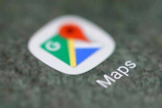 Google Maps uji coba mode gelap