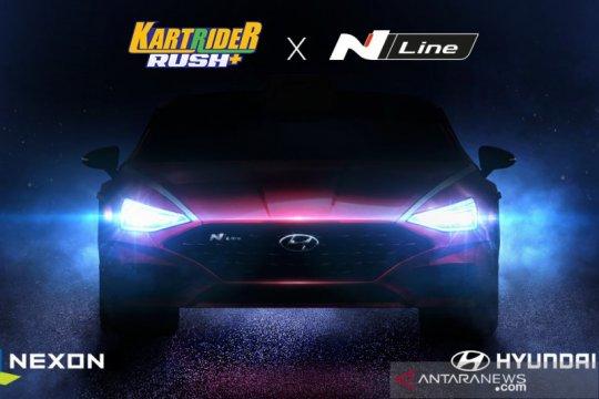 Hyundai Sonata N Line hadir dalam game KartRider Rush+