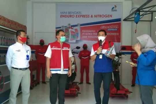 Pertamina Lubricants buka bengkel Enduro Express untuk SMK