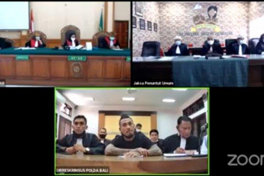 Hakim tolak eksepsi terdakwa Jrx SID dalam sidang virtual