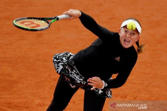 Ostapenko singkirkan Pliskova pada putaran kedua French Open 2020