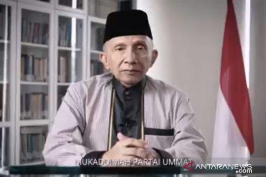 Amien Rais umumkan parpol baru bernama Partai Ummat