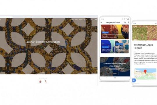 Rayakan Hari Batik Nasional, Google padukan batik dan digitalisasi