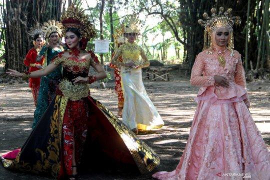 Peragaan busana pengantin nusantara